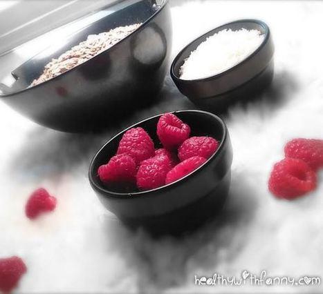 Healthy Raspberry & Oat Bars | Healthy Eating - Recipes, Food News | Scoop.it