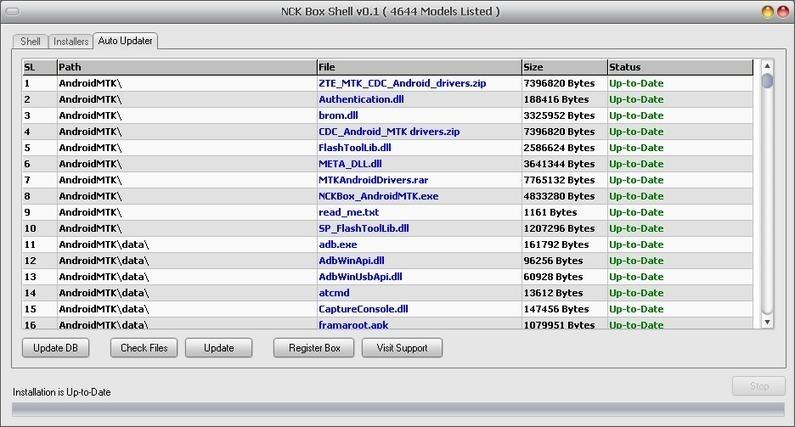 NCK Box Latest Setup Crack With Android MTK Dri