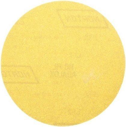 "25 Discs Norton 49210 Hook /& Sand Random Orbital Discs 5/"" 220 Grit 5-Holes"