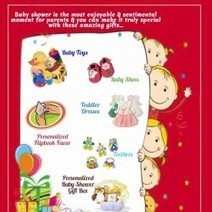 Celebrating The First Birthday With Unique Baby Shower Infographics