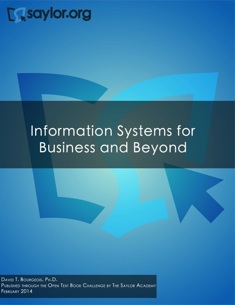 Information Systems for Business and Beyond | Simple Book Production | Developing Apps | Scoop.it