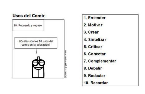 El comic, una herramienta didáctica seria   EduTIC   Scoop.it