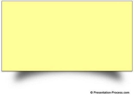 PowerPoint Effect to Create Sticky Notes   lärresurser   Scoop.it