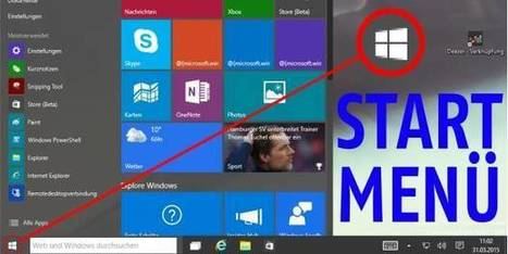 Windows 10: Startmenü-Probleme lösen - so geht´s | #Powershell #Tutorials #EdTech #ICT  | Free Tutorials in EN, FR, DE | Scoop.it