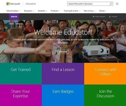 Borderless and Limitless Teaching and Learning: Introducing the new Online Educator Community - Microsoft in Education Blog - Site Home - TechNet Blogs | Educational technology | Scoop.it
