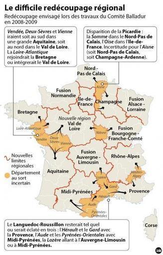 Redécoupage des régions : ce que pourrait devenir Midi-Pyrénées | Association Terres nomades - lien social, éducation artistique, ouverture culturelle | Scoop.it