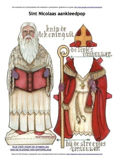 Sint Nicolaas aankleedpop | Sinterklaasfeest, feest met Sint Nicolaas, Zwarte Piet en goochelaar in voorprogramma | Scoop.it