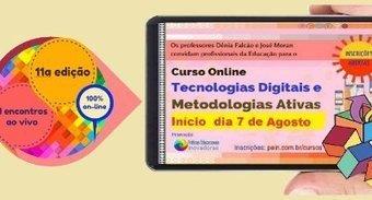 Curso Tecnologias Digitais e Metodologias Ativas inicia 7 de agosto dcd35ef099