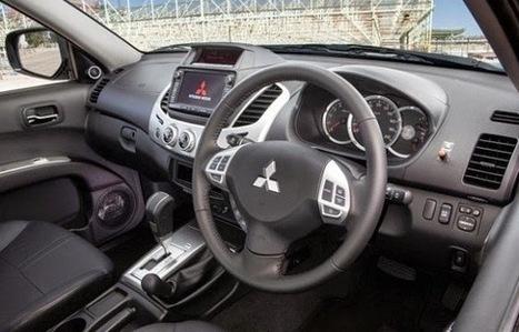 New #Mitsubishi Triton interior   cars and motor   Scoop.it