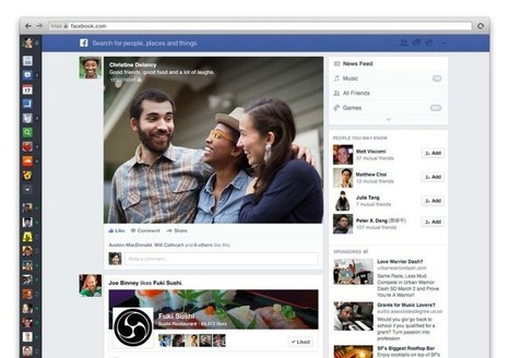 Facebook's Redesigned Newsfeed: The Marketer's Perspective | Simply Zesty | SOCIALFAVE - Complete #SMM platform to organize, discover, increase, engage and save time the smartest way. #TOP10 #Twitter platforms | Scoop.it