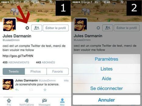 Comment empêcher Twitter de surveiller la liste de vos applications | Antisocial, tu perds ton sang-froid... | Scoop.it