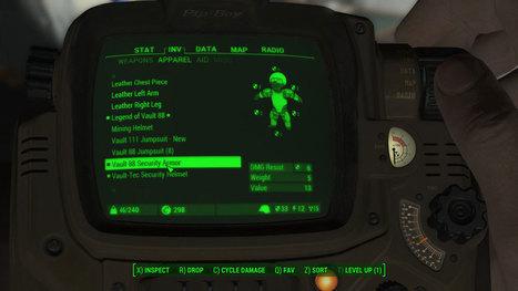 Vault 88 Security Armor Mod for Fallout 4 - Fal