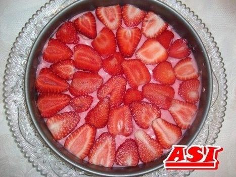 Lagani kolač - torta sa jagodama | Recepti i kuhinja za pocetnike [ kao ja] | Scoop.it