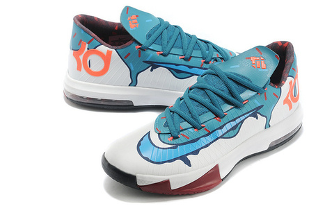 detailed look a42f3 2056b Nike KD 6 Ice Cream Custom for Sale Online   Nike Air Jordans   Scoop.