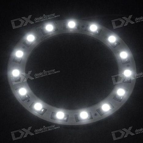 T10 15-LED White Light Car Angel Eye (60mm Diameter) | Drone | Scoop.it