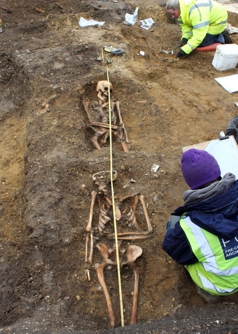 Saxon Burial Ground Uncovered - Archaeology Magazine | Ancient Religion & Spirituality | Scoop.it