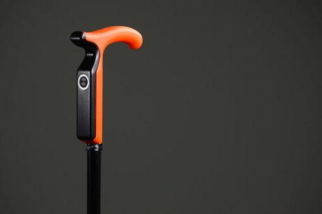 [CES 2017] Nov'in invente la canne connectée pour personnes âgées   Buzz e-sante   Scoop.it