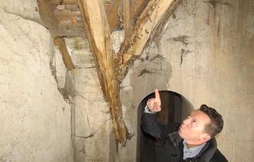Le plafond de l'église romane a failli s'effondrer sur les fidèles | L'observateur du patrimoine | Scoop.it