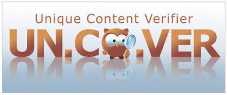 UN.CO.VER : un logiciel de détection de duplicate content | Time to Learn | Scoop.it