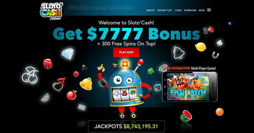 Slotocash No Deposit Bonus 2016 Casino Sco