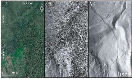 USGS Gallery: Comparison of Aerial Photo and LiDAR Image | Aerial Mapping Weekly Update | Scoop.it