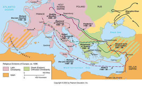 Preparations for the First Crusade | History & Maps | Scoop.it