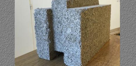 [vidéo] La brique de chanvre comme matériau de construction   Innovation dans l'Immobilier, le BTP, la Ville, le Cadre de vie, l'Environnement...   Scoop.it