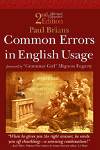Common Errors in English Usage | Personal [e-]Learning Environments | Scoop.it