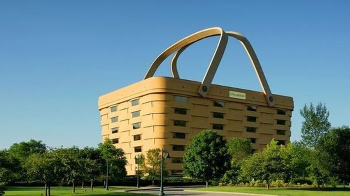 OK, so who wants to buy a 180,000-square-foot basket? | Antiques & Vintage Collectibles | Scoop.it