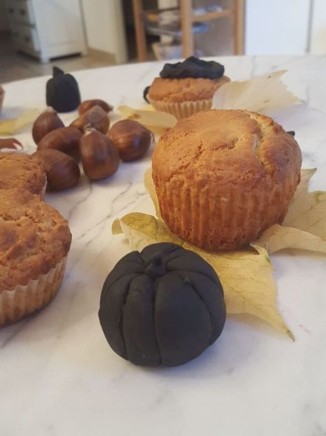 Muffins au yaourt & avoine et déco d'automne -  Virginie B le blog lifestyle | Food sucré, salé | Scoop.it