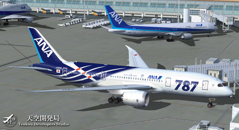TDS Releases Boeing 787 For FS9/FSX | Microsimu