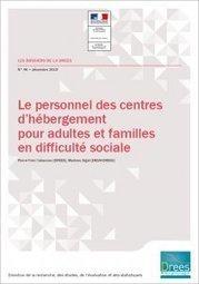 Le personnel des centres d'hébergement pour adultes et familles en difficulté sociale - Ministère des Solidarités et de la Santé