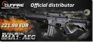 First WE AEG now available from Gunfire - Arnie