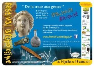Quatrième festival d'archéologie De la Trace aux Gestes   Archéologie et Patrimoine   Scoop.it