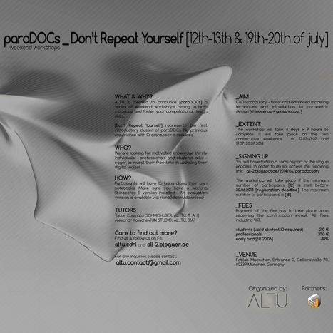 AL_TU: paraDOCs_DRY | AL_TU research | Scoop.it