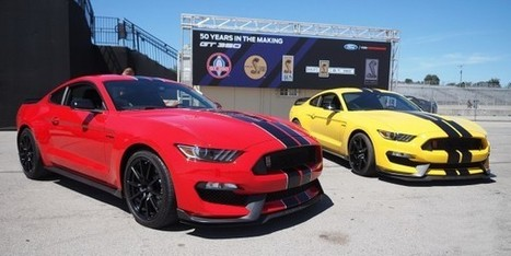 2016 Shelby Mustang GT350 VS GT350R | Muscle Cars of America | Scoop.it