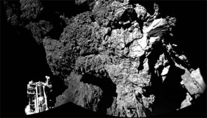 Philae Lands on Its Comet — Three Times! - Sky & Telescope | Space & Time | Scoop.it