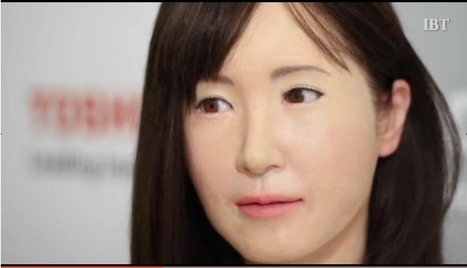 Meet Toshiba's new scarily realistic Robot unveiled at CES 2015 | Chasing the Future | Scoop.it