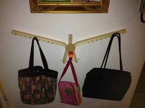 "FROSTA ""bird design"" handbag holder | BricoService - Manutenzioni residenziali | Scoop.it"