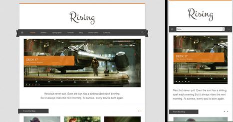 10 Amazing Responsive WordPress Themes   Template & Webdesign   Scoop.it