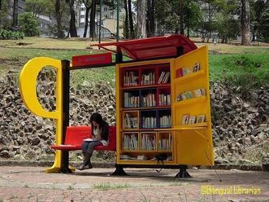 Colombia cuenta con 100 bibliotecas pequeñas en los parques públicos | educARTE | Scoop.it