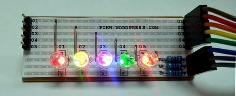 Meltwater's RGB LED libraries lesson | Raspberry Pi | Raspberry Pi | Scoop.it