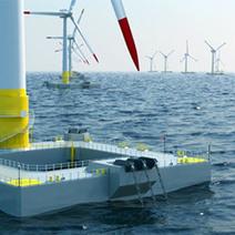 La première éolienne flottante testée au large des côtes françaises | Notre planète | Scoop.it