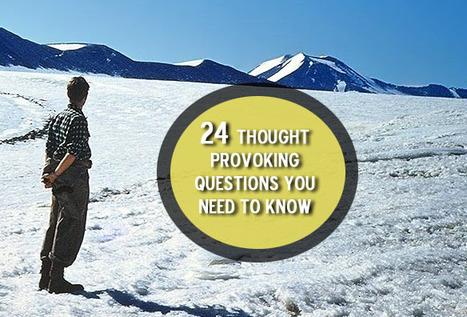 24 Thought Provoking Questions You Need To Answer To Know Yourself Better | MoVup | Scoop.it