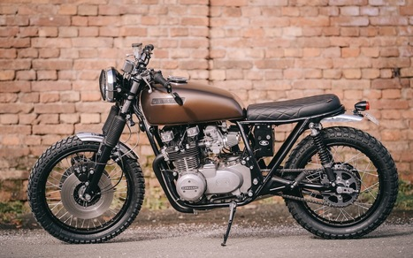 The Kawa Heritage Cafe Racers Scoopit