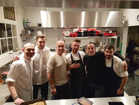 TERMINAL#1 des Pourcel à Café Caron à Amsterdam pour un 4 mains | MILLESIMES 62 : blog de Sandrine et Stéphane SAVORGNAN | Scoop.it