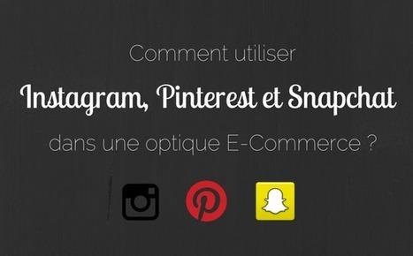 [Infographie] Comment intégrer Instagram, Pinterest et Snapchat dans votre stratégie E-Commerce ? | Communication digitale | Scoop.it