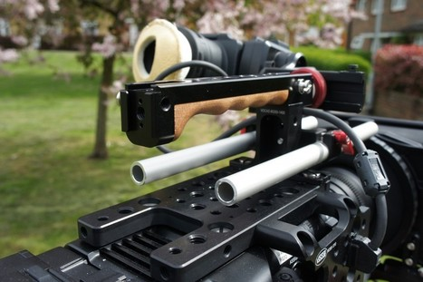 Vocas PMW-F5 and PMW-F55 Shoulder Rig. Really Nice Stuff. | XDCAM-USER.COM | Sony Professional | Scoop.it