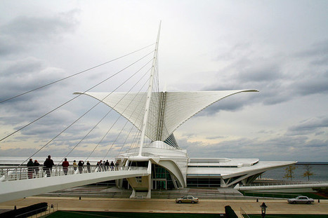 How Santiago Calatrava BLURRED the lines between architecture and engineering to make buildings move | Today's Modern Architects and Architecture | Scoop.it