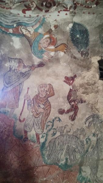 De superbes fresques découvertes en l'église d'Eget | Vallée d'Aure - Pyrénées | Scoop.it